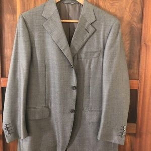 Canali Silk and Wool Blend Blazer
